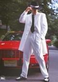White Tuxedo Mens Zoot