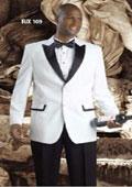 2 Button Tuxedo Suit
