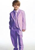 Lavender and white tuxedo