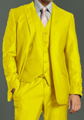 Yellow&Gold suits