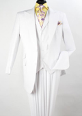 Peak Lapel Pure White