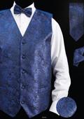 Paisley Design  Blue