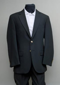 2 Button Blazer Black