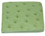 Altos Ostrich Wallet Mint