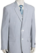 Fashion 3pc Seersucker Suit