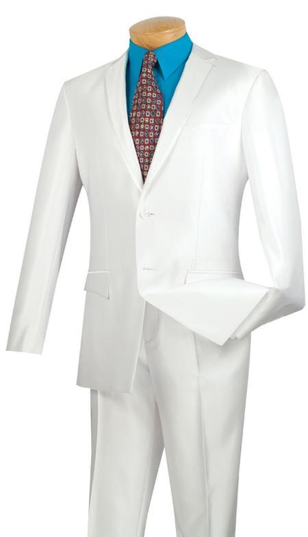 White Slimfit Tuxedo
