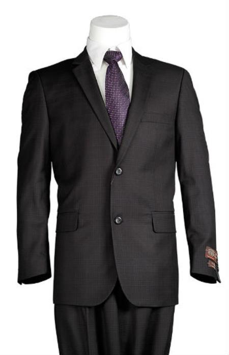Slim Cut Suit Black