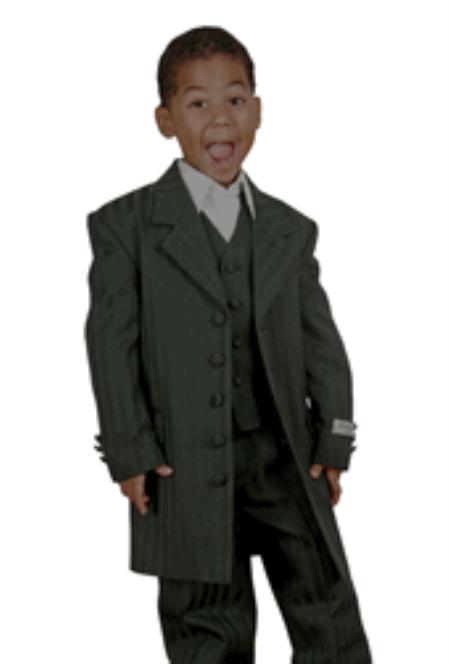 Product#KA7867 Boy's 3 Piece Fashion Designer Suit
