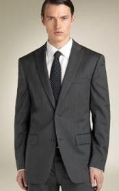 Button Peak Lapel Suit