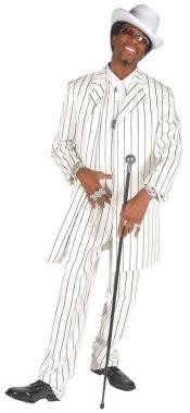 Mens Vested White &