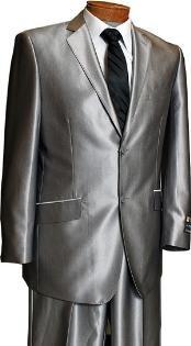Men's Silver tuxedo