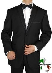 Tuxedo Suit Two Button