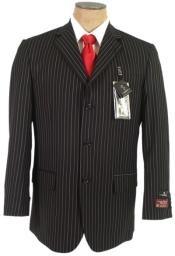 Black Pinstripe $225