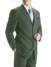 Green 100% Pure Wool