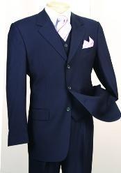 three piece suit in