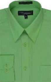Dress Shirt lime mint