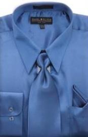 Royal Blue Shiny Silky