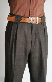 Leg Pants Charcoal