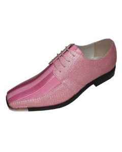 Pink Classic Oxford Striped