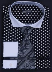 Cotton French Cuff Dress