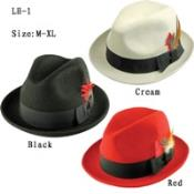 Red Derby Hats