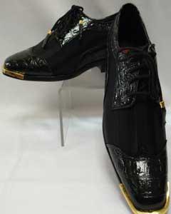 Cool Black Wingtip Style