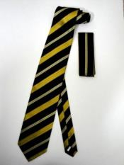 Tie Set Black Gold