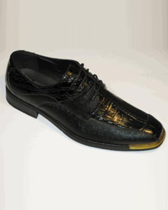 Gold Tip Shoes Exotic