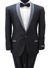 Men's light grey suits