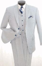 3piece Seersuckers Suit $165