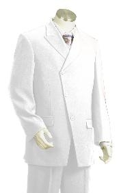 Fashion Zoot Suit White