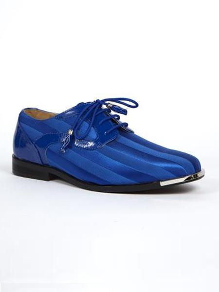 Product# SS-8523 Dress Shoes for Online Available in royal & Purple color shade Color