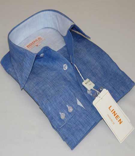 Denim Blue Linen Inserch