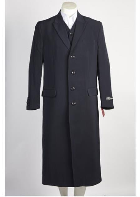 Navy 4 Button Suits
