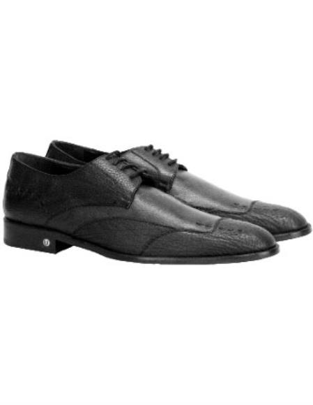 Mens Vestigium Genuine Sharkskin