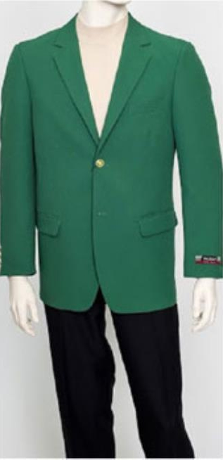 Mens Pacelli Classic Green