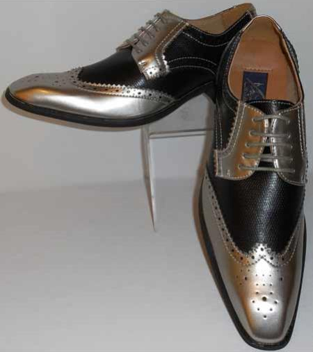 Mens Gorgeous Wingtip Laceup