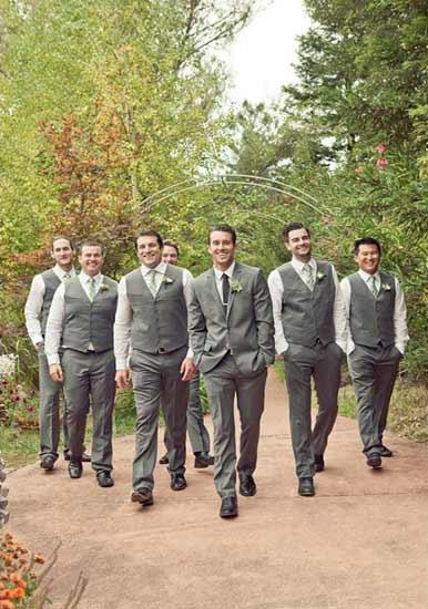 Groomsmen Package Grey ~