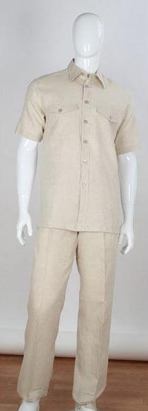 Mens Stripe Accent Shirt