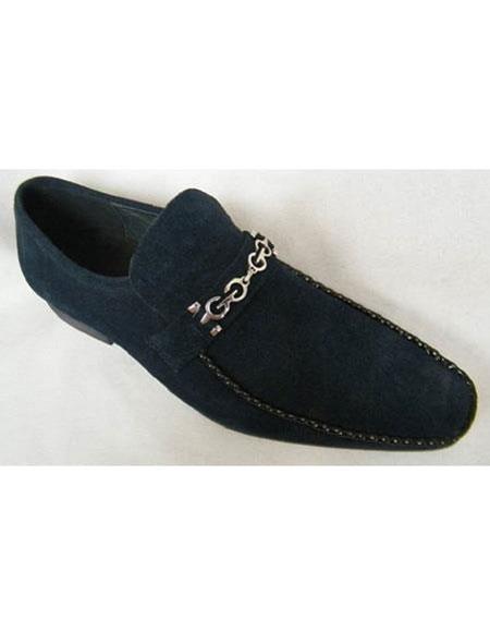 Mens Zota Suede Leather