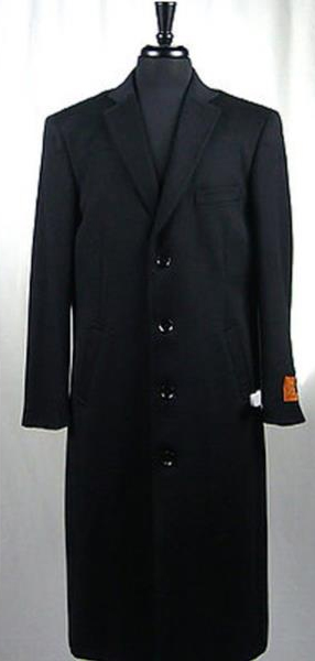 Mens 4 Button Wool