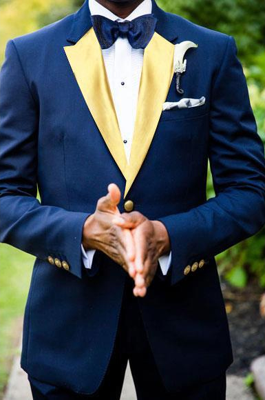 Mens Two Toned Tuxedos