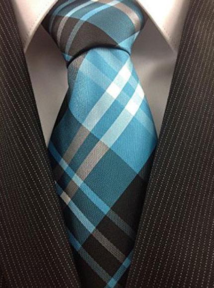 Mens Necktie Woven Polyester