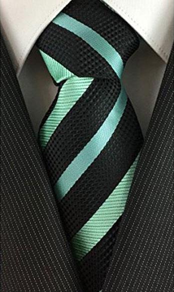 Mens Classic Necktie Pearl