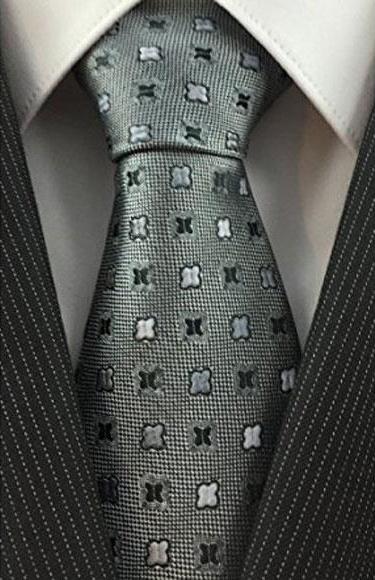 Mens Trendy Necktie Woven