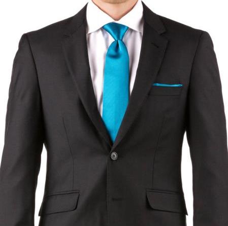 Buy Online Instead of Rental Slim Fit Notch Lapel Groom & Groomsmen Wedding Suits & Tuxedo Online + Black + Free Shirt & Tie