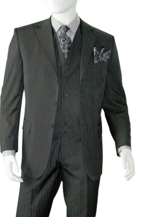 Albeto Nardoni Charcoal Grey