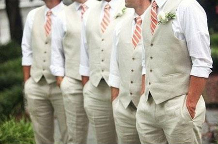 Product# JSM-4709 Groom and Groomsmen Wedding Attire For Man (Call Over the phone to place the order for this look)