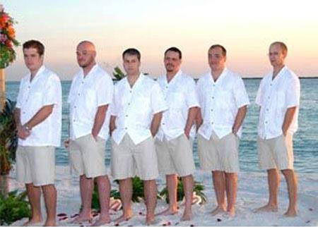 Product# JSM-4710 Groom and Groomsmen Wedding Attire For Man (Call Over the phone to place the order for this look)