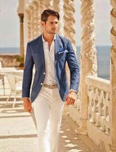 Product# JSM-4722 Groom and Groomsmen Wedding Attire For Man (Call Over the phone to place the order for this look)